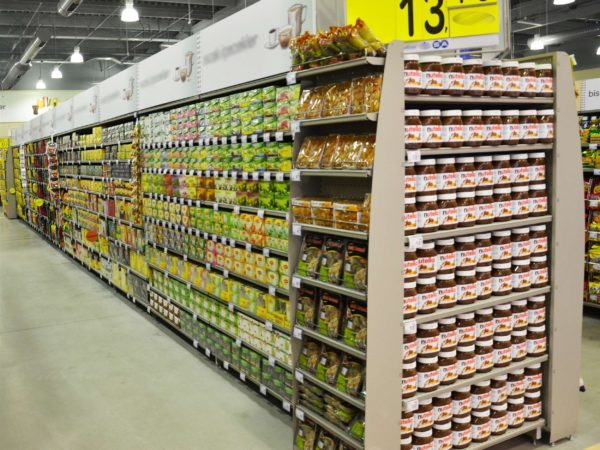 PICTURES OF SUPERMARKET SHELVES