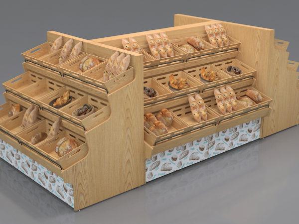 Стелажи за печива и хлебни изделия