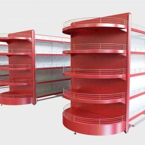 Метални стелажи и рафтове- основни модули
