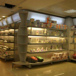 Книжарница, стъклария, подаръци, цветя